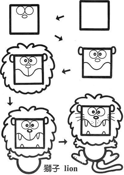 简单几何图形 简笔画