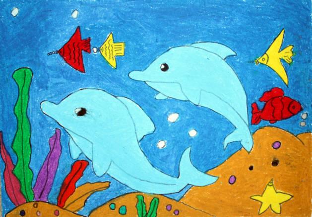 2014年海洋生物绘画比赛学生作品(二) 讨论区 - 大连
